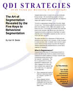 art of segmentation whitepaper